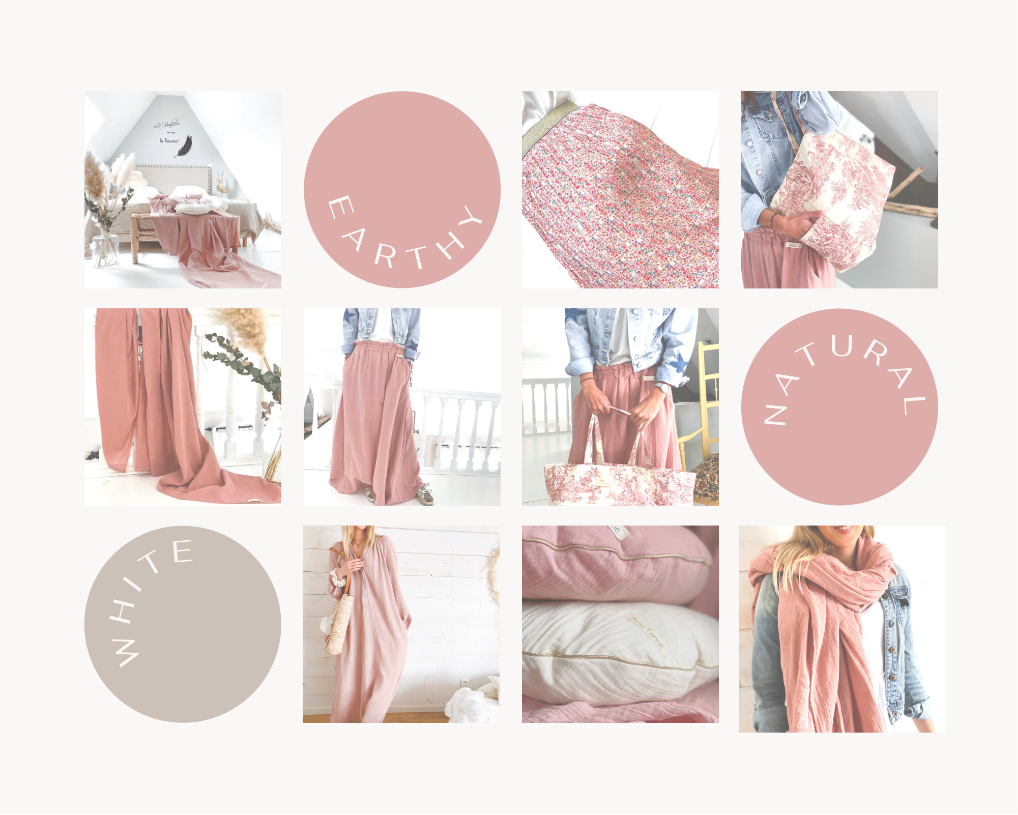 moodboard collection rose